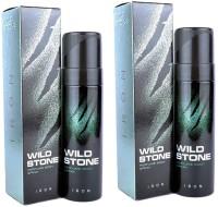 Wild Stone Iron Body Spray  -  For Men(240 ml, Pack of 2)