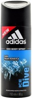 ADIDAS Ice Dive Deodorant Spray  -  For Men(150 ml)