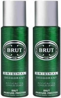 Brut Original Body Spray - For Men(200 ml, Pack of 2)