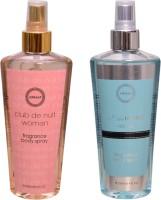 Armaf 1 CLUB DE NUIT WOMEN::1 BLUE HOMME Body Mist  -  For Men & Women(500 ml, Pack of 2)
