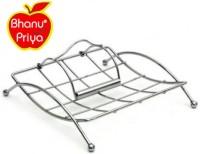 Bhanu Priya 1 Compartments STAINLESS STEEL NAPKIN HOLDER(STEEL)