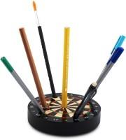 Poppadum Art P 10 Compartments Wooden Pen Stand(Multicolor)