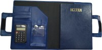 Tiara Diaries 4 Compartments FOX LEATHER DISPLAY BOOK(Blue)