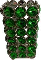 decor8 Contemporary 1 Compartments Iron Pen Stand(Green, Silver)