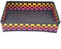 shraddha collections multipurpose 1 Compartments Plastic Tray(Black)