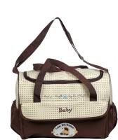 Creative India Exports Multi Compartment Baby Care Diaper Bag(Multicolor)
