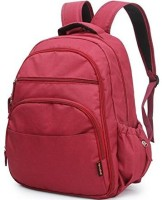 T-Bags Mommy And Baby Red Backpack Diaper Bag(Red)