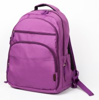 T-Bags Mommy And Baby Purple Backpack Diaper Bag(Purple)