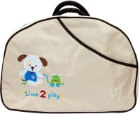 MeeMee Multi Function Mama Messenger Diaper Bag(Brown)