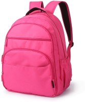 T-Bags Mommy And Baby Hot Pink Backpack Diaper Bag(Pink)