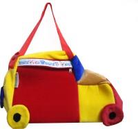 NAVIGATOR Bus Fur Shoulder Diaper Bag(Red, Blue, Yellow)