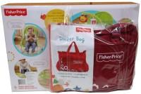 Fisher-Price NBT Rocker Backpack Diaper Bag(Maroon)