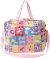 NAVIGATOR Dpk01 Diaper bag(White, Pink)