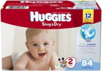 Huggies Snug and Dry Diapers - S
