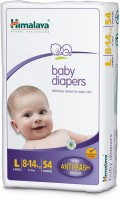 Himalaya Baby Large Size Diapers with 54 pcs - L(54 Pieces)