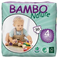 Bambo Nature Premium Baby Diapers - L(30 Pieces)
