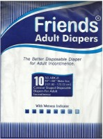 Friends Tape Adult Diapers - XL