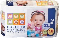 MeeMee Premium Breathable Diapers - XL(16 Pieces)