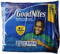 GoodNites Underwear - Boy - L(27 Pieces)