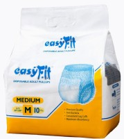 EasyFit Disposable Pullups Adult Diapers - M(10 Pieces)