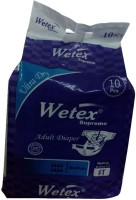 Wetex Adult Diapers Supreme Adult Diapers - M(10 Pieces)