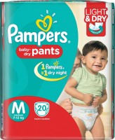 Pampers Pants Diapers - M(20 Pieces)