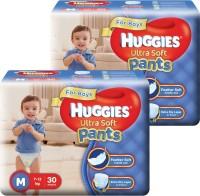 Huggies Ultra Soft Pants Combo - M(60 Pieces)