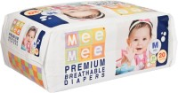 Mee Mee Premium Breathable Diapers - M(20 Pieces)