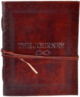 Craft Play Regular Notebook(The Journey Leather, Brown)