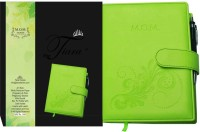 Tiara Diaries Pregnancy & First Year Planner A5 Diary Ruled 140 Pages(Green)