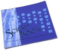 Creates & Designs Handmade Paper Scrap Book Regular Journal Unruled 36 Pages(Blue)