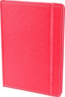 Eco-Leatherette A5 Diary(Handcrafted, Dark Pink)