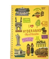 Eco Corner A4 Notebook(Small Hyderabad Ruled Exercise, Yellow)