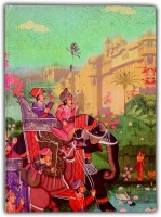 Eco Corner Indian Art Palace A5 Diary Ruled 192 Pages(Multicolor)