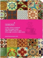 Karunavan Notebook(Coffee Theme, Turquoise Tile)