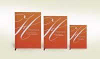 Tiara Diaries A5 Notebook(HAPPINESS JOY LIFE TACKING ACTION SET OF 3, LT ORANGE)