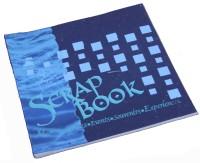 Creates & Designs Handmade Paper Scrap Book Regular Journal Unruled 36 Pages(Purple)