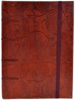 Craft Play Regular Notebook(Leather Emboss Special Binding, Multicolor)