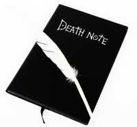 ComicSense Book-size Notebook(Anime Cosplay, Black)