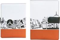 10 Am A5 Organizer(India Organiser (orange), Orange)