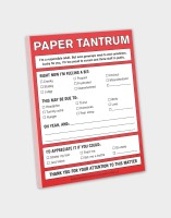 Knock Knock A4 Note Pad(Paper Tantrum, Multicolor)