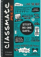 Classmate Regular Notebook(6 Subject Notebook, Multicolor, Pack of 2)