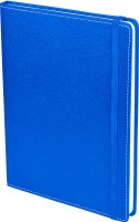 Eco-Leatherette Handcrafted B5 Diary Ruled 196 Pages(Denim Blue)