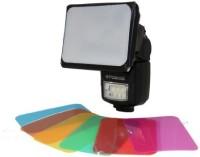 Polaroid PL-DIFSBGEL-11 Canon Speedlite 580EX, Canon Speedlite 580EX II, Canon Speedlite 430EX, Canon Speedlite 430EX II, Canon Speedlite 270EX, Canon Speedlite 320EX, Canon Speedlite 600EX-RT Diffuser(Black, Silver)