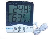MEXTECH M288CTHW Digital Thermohygrometer Thermometer(White & black)