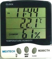 MEXTECH M288CTH Digital Thermohygrometer Thermometer(White & Black)