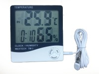 MEXTECH TM-2 Digital Thermohygrometer Thermometer(White & Black)