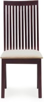 View InLiving Midas Solid Wood Dining Chair(Set of 1, Finish Color - Warm Rich) Furniture (InLiving)
