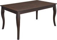 @home by Nilkamal Larissa Solid Wood 6 Seater Dining Table(Finish Color - Brown)
