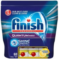 Finish Quantum Max 60 Tablets Imported Dishwashing Detergent(60 Pod)